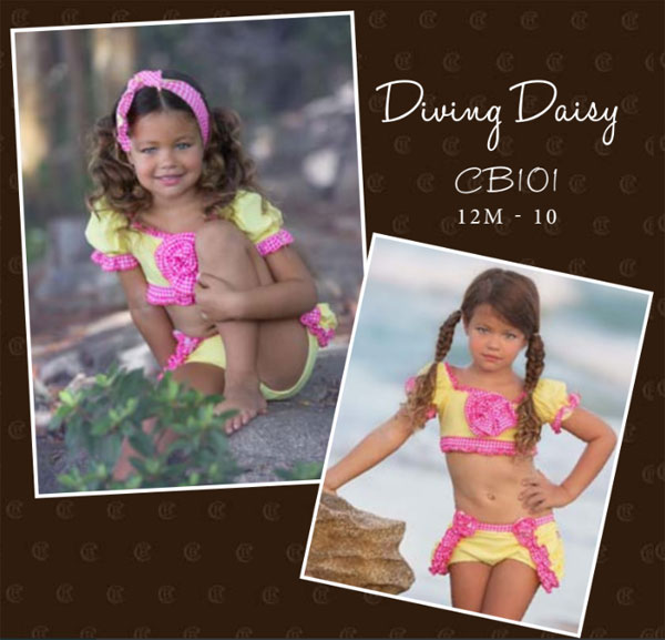 #CB101-CB Chichanella Bella Diving Daisy